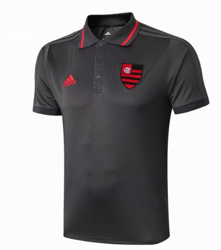 Maillot Polo Flamand 2019-2020 gris