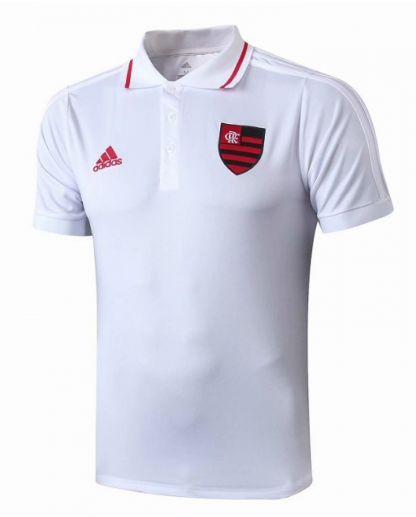 Maillot Polo Flamand 2019-2020 blanc