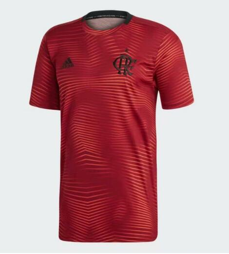 Maillot d'entraînement de football Flamengo 2020 rouge