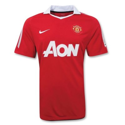 ensemble maillot manchester united 2010-2011 domicile