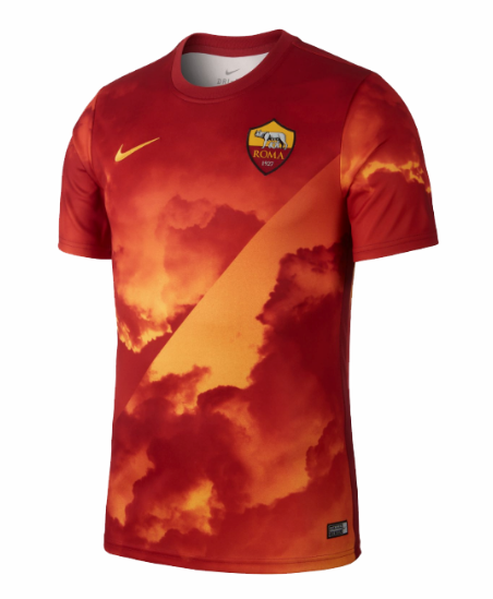 Maillots d'entraînement de football As Rome 2019-2020