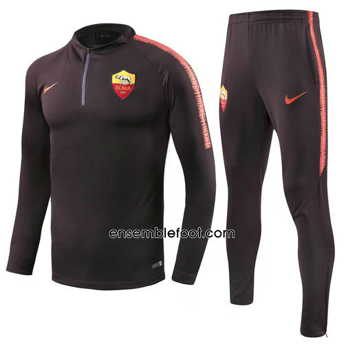veste de foot homme Pourpre As Roma 2019