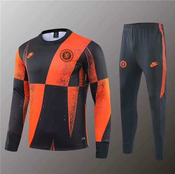 Veste d'entraînement 2020 Orange Chelsea