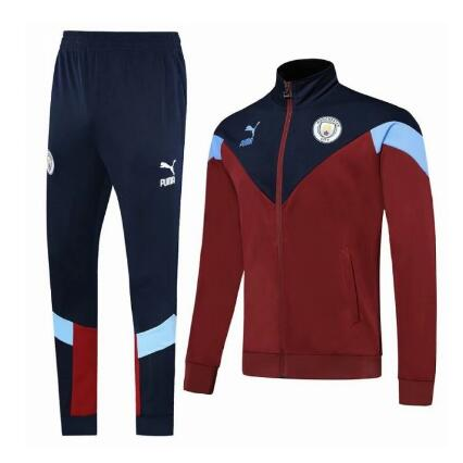 Veste de survêtement Manchester City 2019-2020 rouge