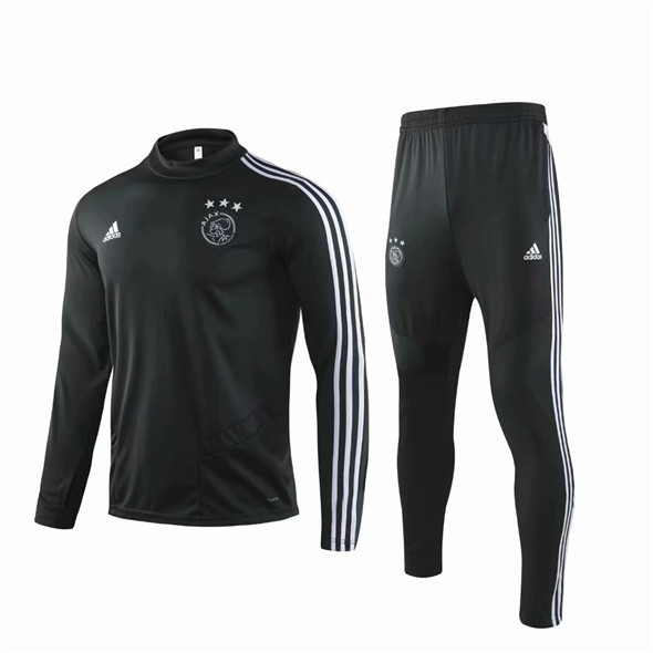 Veste de training Ajax 2019-2020 noir
