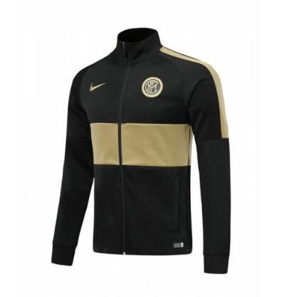 Veste de training Inter Milan 2019-2020 noir-or