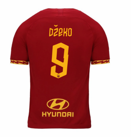 ensemble maillot dzeko as rome 2020 domicile
