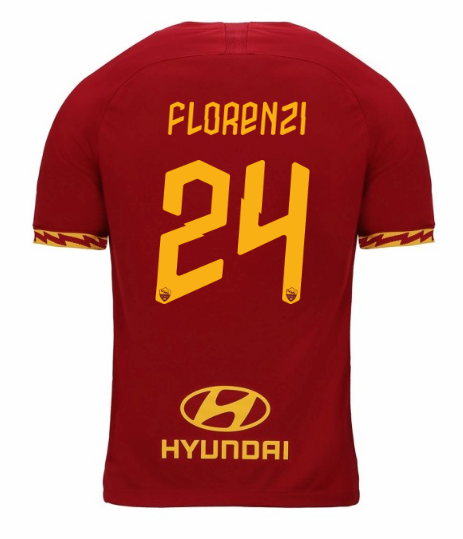 ensemble maillot florenzi as rome 2020 domicile