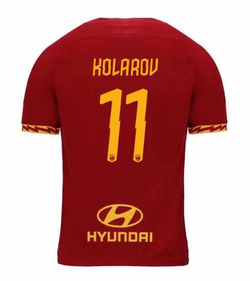 ensemble maillot kolarov as rome 2020 domicile