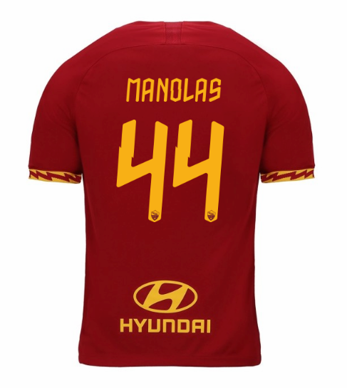 ensemble maillot manolas as rome 2020 domicile