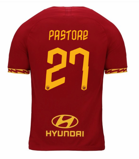 ensemble maillot pastore as rome 2020 domicile
