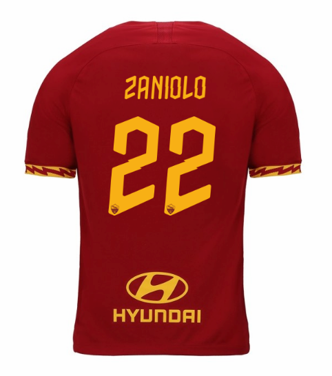 ensemble maillot zaniolo as rome 2020 domicile