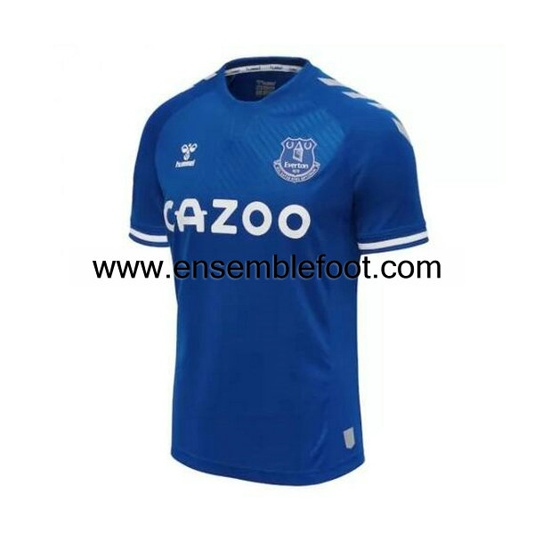 ensemble maillot Everton 2020-2021 domicile