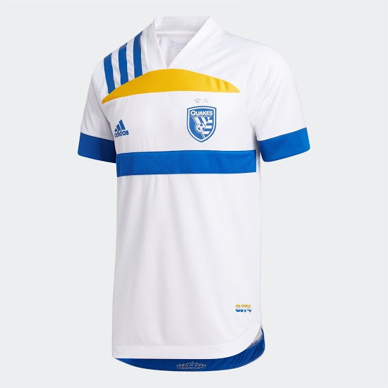 ensemble san jose earthquakes 2020-2021 exterieur