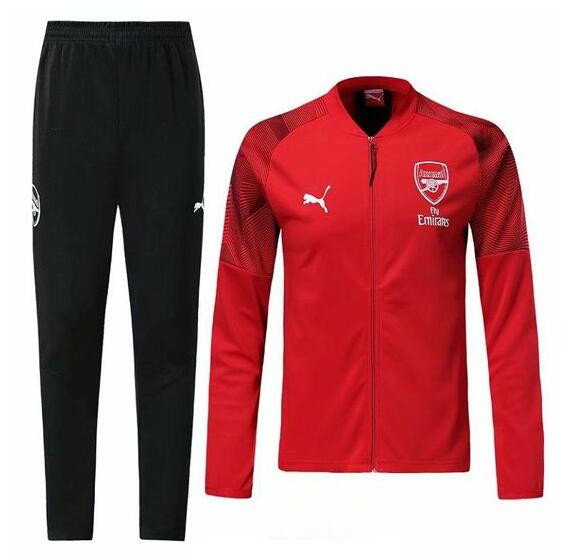 ensemble survêtement foot homme arsenal 2020 rouge