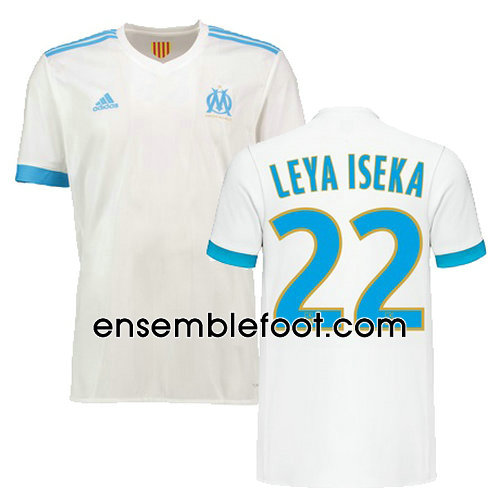 ensemble olympique de marseille ensemble maillot olympique marseille 2018 2019 domicile. Black Bedroom Furniture Sets. Home Design Ideas