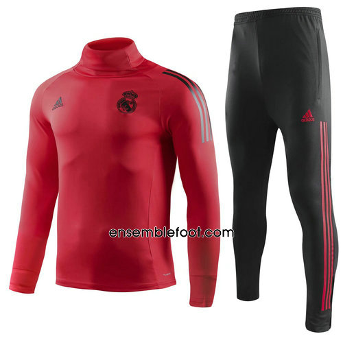 ensemble survêtement foot homme rouge real madrid 2019