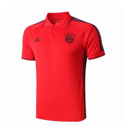maillot polo Bayern Munich 2020 rouge