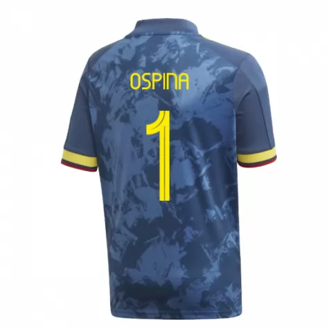 ensemble maillot ospina colombie 2019-2020 exterieur
