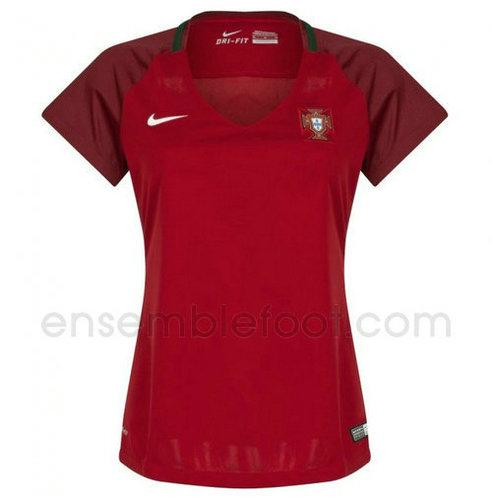 ensemble portugal ensemble portugal maillot portugal 2017 domicile pour femme. Black Bedroom Furniture Sets. Home Design Ideas