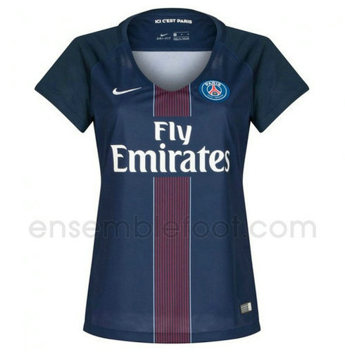 ensemble paris saint germain ensemble paris saint germain maillot psg 2017 domicile pour femme. Black Bedroom Furniture Sets. Home Design Ideas