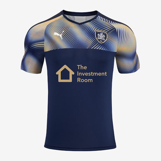 officielle maillot Barnsley 2019-2020 exterieur