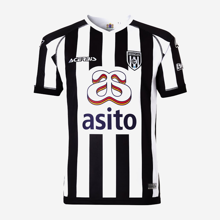 officielle maillot heracles almelo 2019-2020 domicile