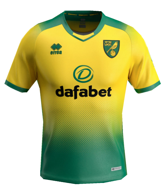 officielle maillot Norwich City 2019-2020 domicile