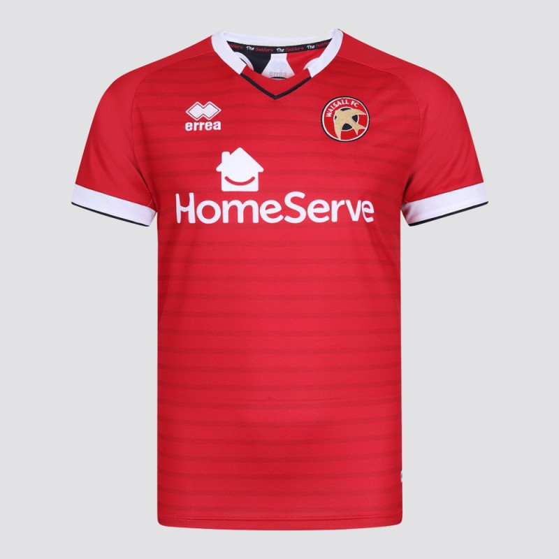 officielle maillot Walsall FC 2019-2020 domicile