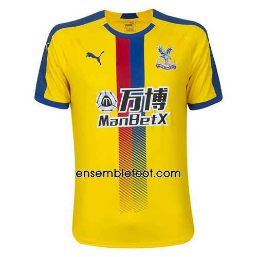 officielle maillot crystal palace 2018-2019 troisieme