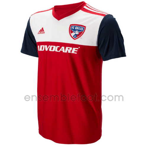 officielle maillot fc dallas 2018-2019 domicile