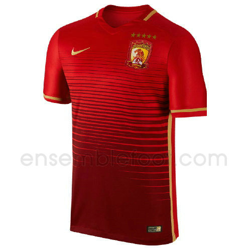 officielle maillot guangzhou evergrande 2016-2017 domicile