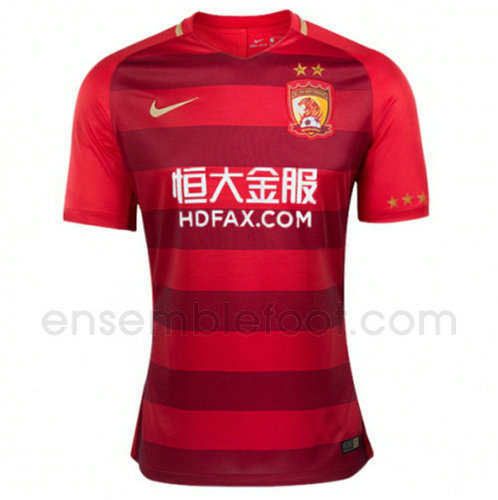 officielle maillot guangzhou evergrande 2017-2018 domicile