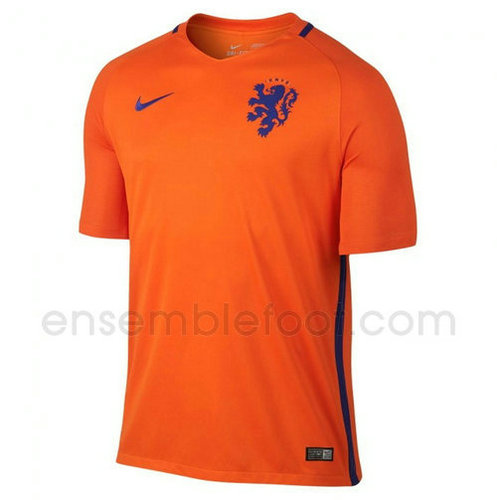 officielle maillot hollande 2016-2017 domicile