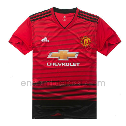 officielle maillot manchester united 2018-2019 domicile
