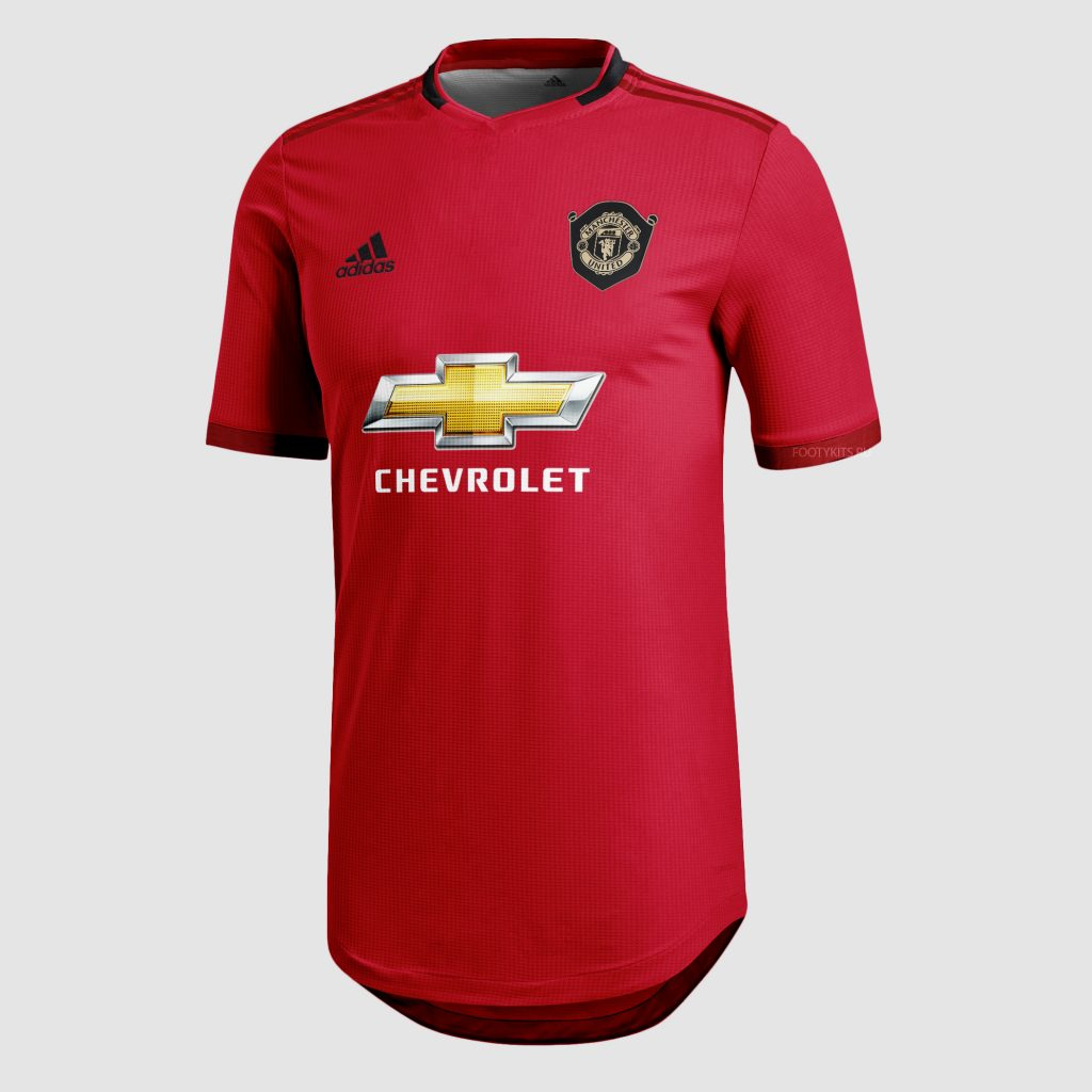 officielle maillot manchester united 2019-2020 domicile