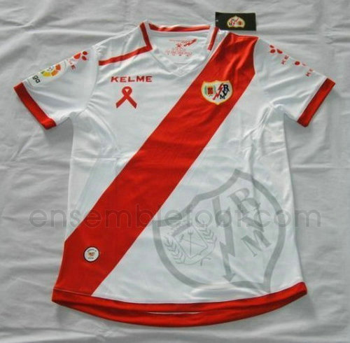 officielle maillot rayo vallecano 2016-2017 domicile