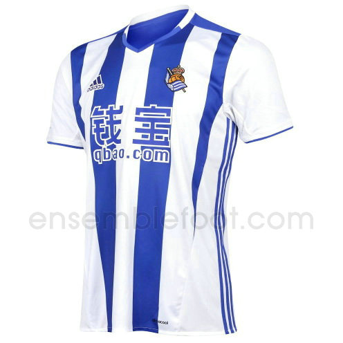 officielle maillot real sociedad 2016-2017 domicile