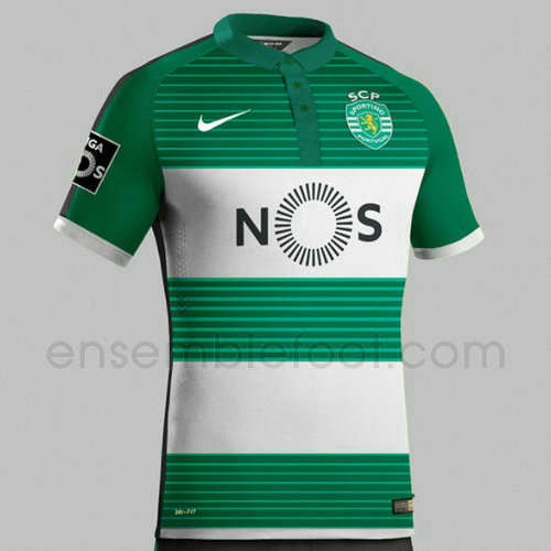 officielle maillot sporting cp 2017-2018 domicile