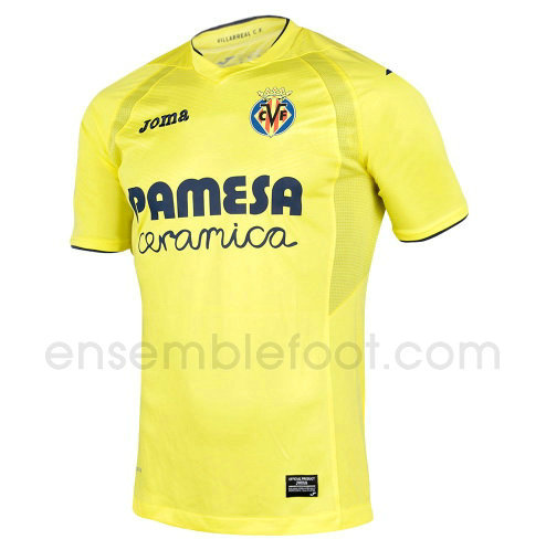 officielle maillot villarreal cf 2016-2017 domicile