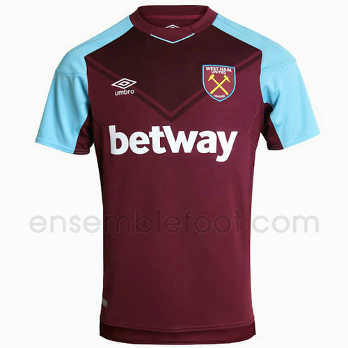 officielle maillot west ham united 2017-2018 domicile
