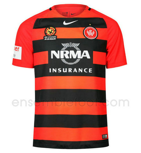 officielle maillot western sydney wanderers 2016-2017 domicile