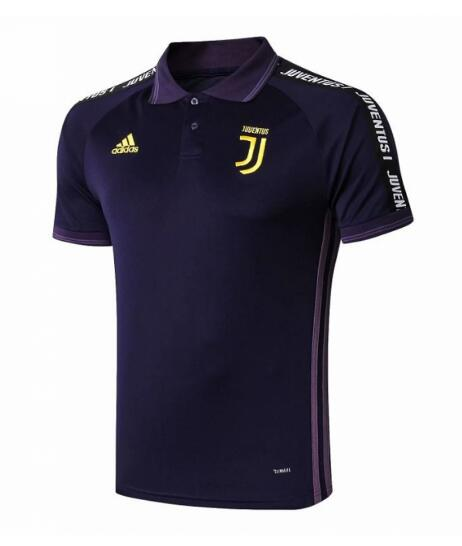 maillot polo homme Juventus 2020 Violet