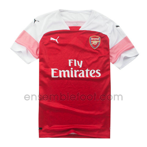 ensemble maillot arsenal 2018-2019 domicile