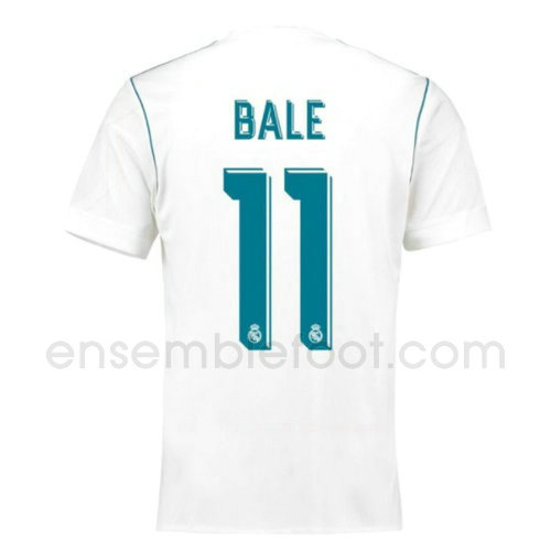 ensemble maillot bale 4 real madrid 2017-2018 domicile