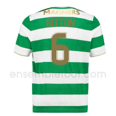 ensemble maillot bitton 6 celtic 2017-2018 domicile