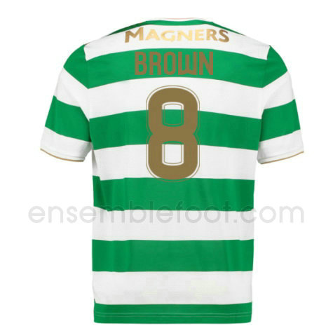 ensemble maillot brown 8 celtic 2017-2018 domicile