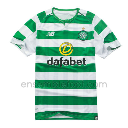 ensemble maillot celtic 2018-2019 domicile