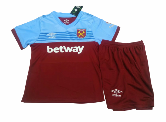 maillot ensemble enfant West Ham United 2019-2020 domicile