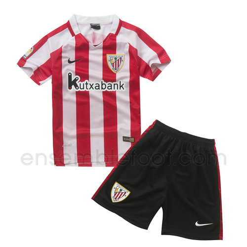 maillot ensemble enfant athletic bilbao 2016-2017 domicile